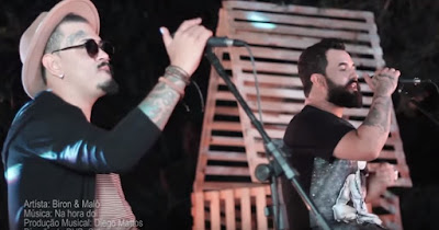 "Música ""Na hora Dói "" da dupla ""Biron & Malô"""