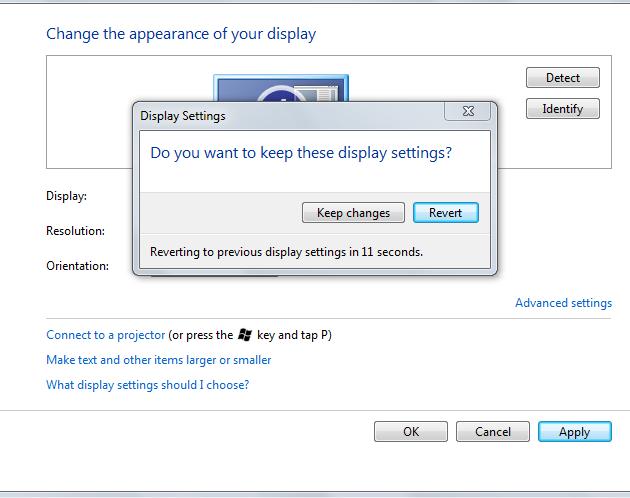 Ini merupakan langkah terakhir cara mengatur screen resolution