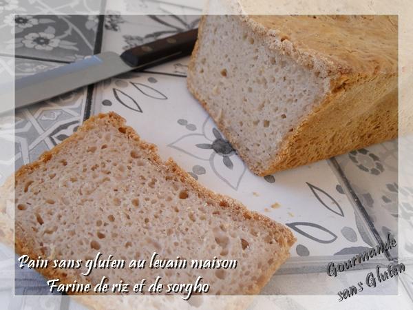 pain au levain sans gluten