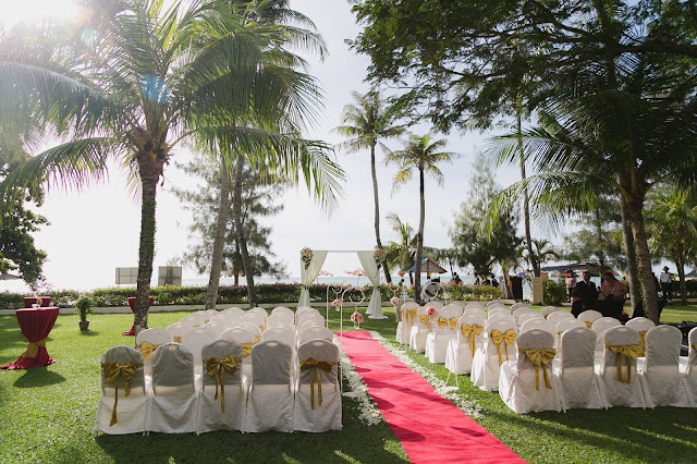 coconut tree wedding
