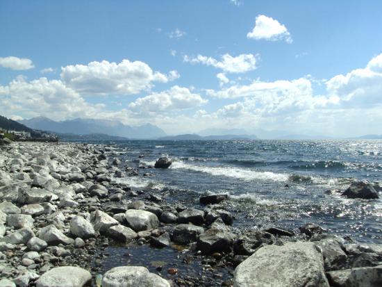 Praia do Centro em Bariloche