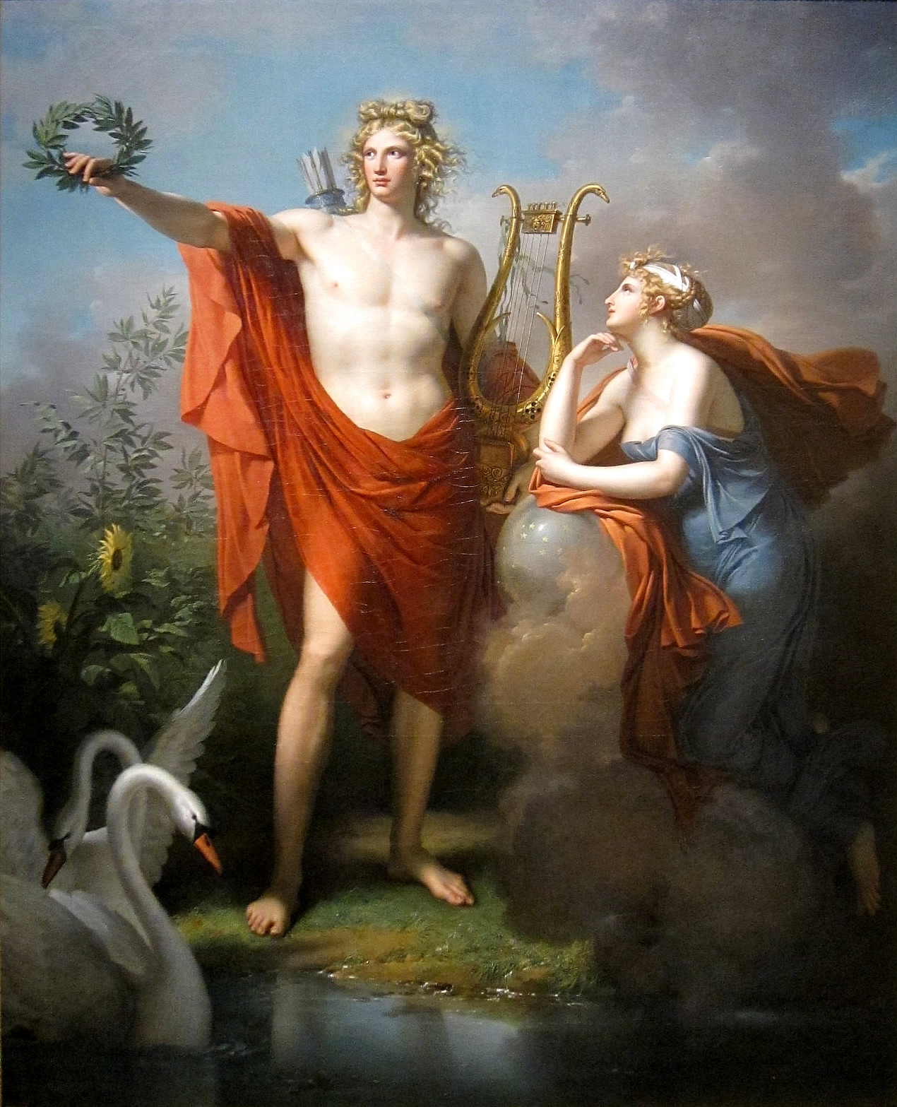 a contrast between apollo and dionysus two gods from greek mythology Introduction in contrast to that of the greeks when the romans adopted the greek gods from the third century bc on in terms derived from greek mythology.