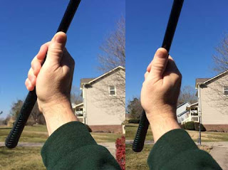 The start and finish of the trigger move with the trailing hand