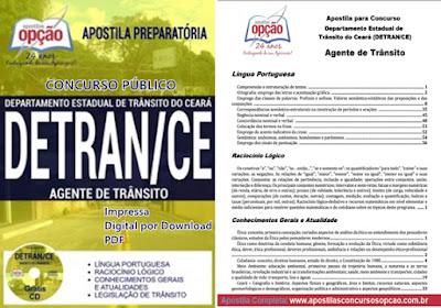 apostilas do Concurso Público Detran Ceará 2017