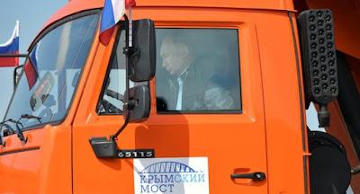 Путін урочисто відкрив Керченський міст