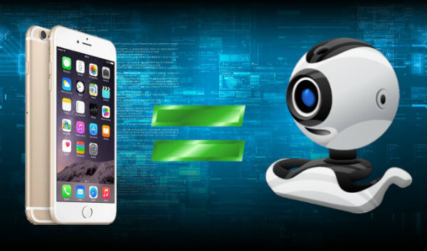 How use iPhone as webcam Mac PC apps
