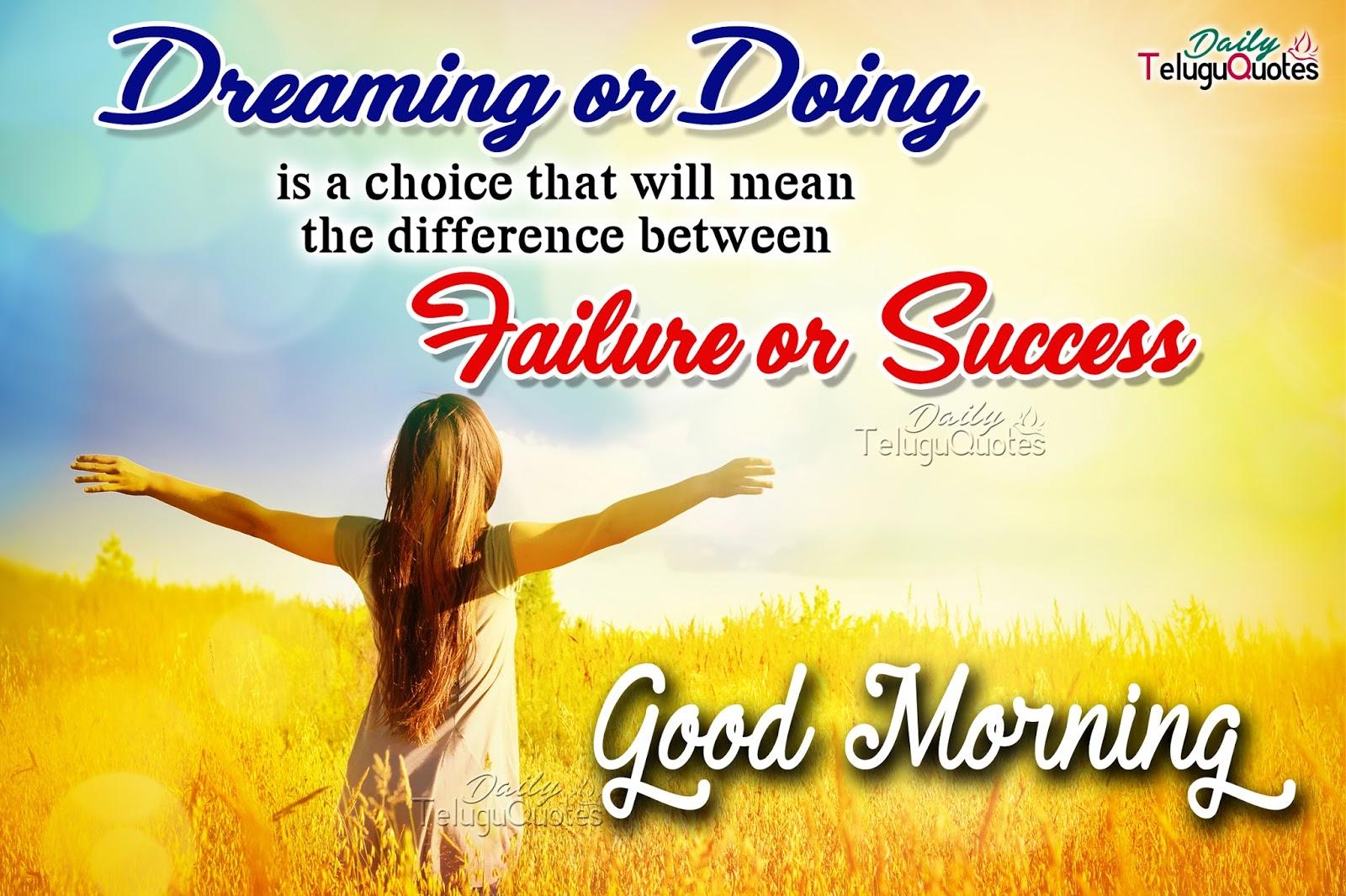Best good morning wishes quotes and greetings about failure and motivational good morning quotes greetings sms messages about kristyandbryce Images