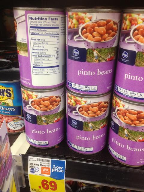 Pinto Beans - Kroger