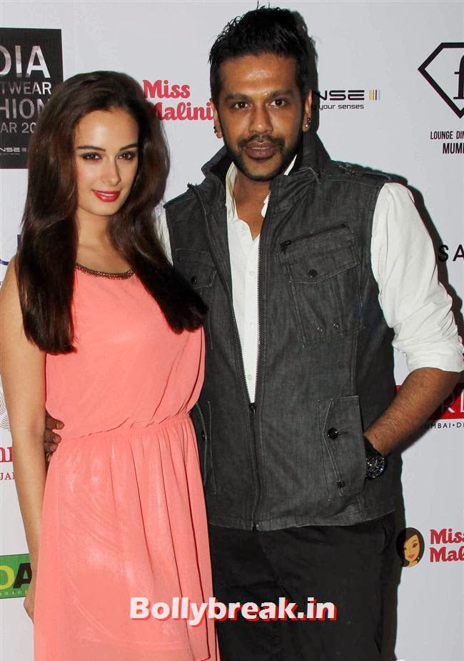 Evelyn Sharma and Rocky S, Kangana, Evelyn, Pria sizzle at Resortwear Fashion Calendar Launch