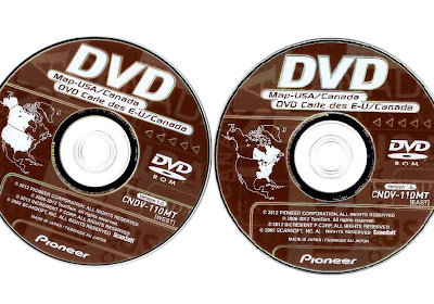Avic D3 Map Update with dvd