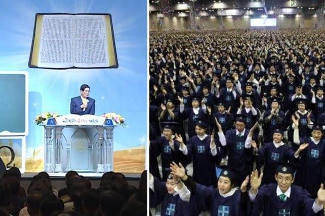 Rộ tin giáo phái Shincheonji trà trộn vào các nhà thờ chính thống để lây bệnh Covid-19 ở Hàn Qu