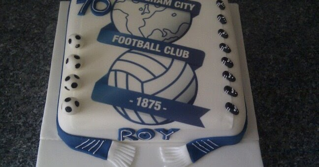 Sam S Cakes Birmingham City Cake
