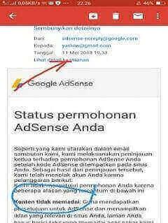 Trik jitu daftar Google Adsense