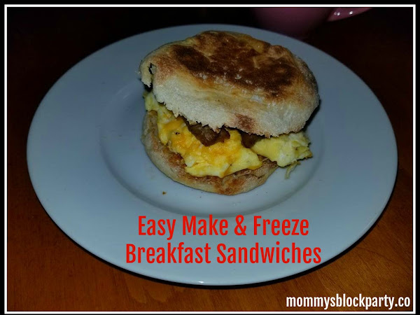 Easy Make & Freeze Breakfast Sandwiches