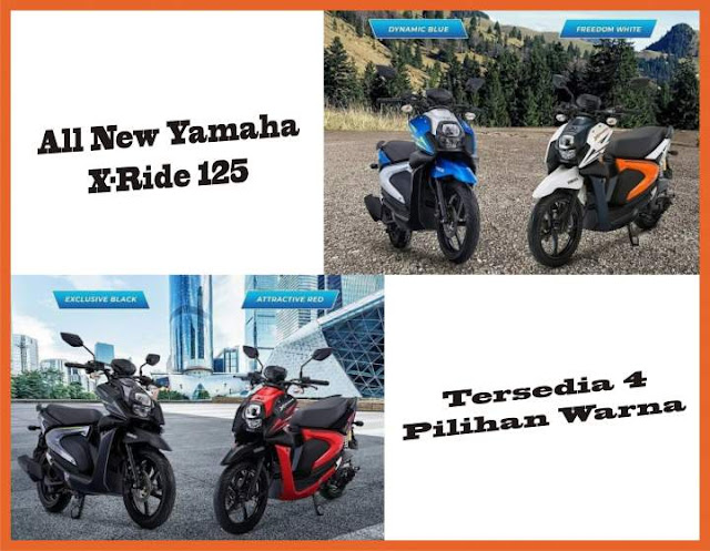 All New yamaha X Ride 125 Tahun 2018