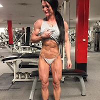Powerful and strong muscular women! Muscle Angels