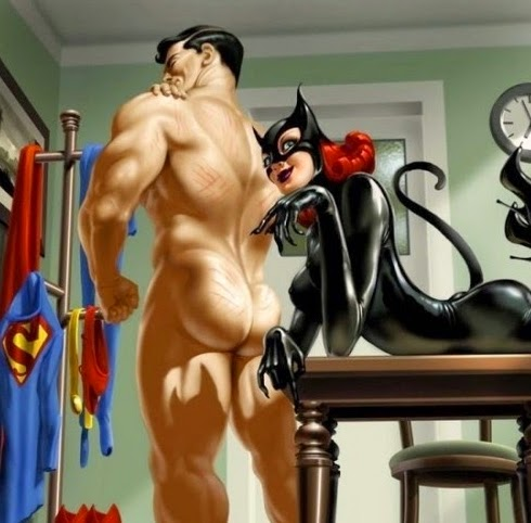 superman y catwoman sexo