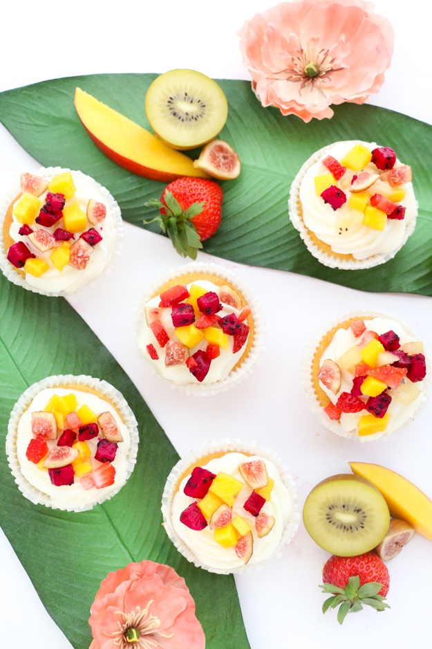 Make your own tropical fruit sprinkles to top your cupcakes or bowl of ice cream. Finally sprinkles that taste as good as they look! - Eat, dessert, food, recipe, how-to, tutorial - party food and dessert recipe