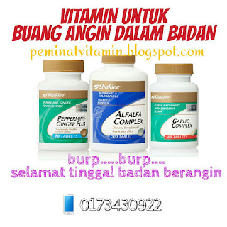 vitamin buang angin
