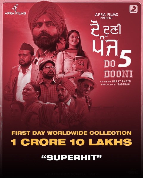 Do Dooni Panj Punjabi Movie Budget Hit Or Flop On Box Office