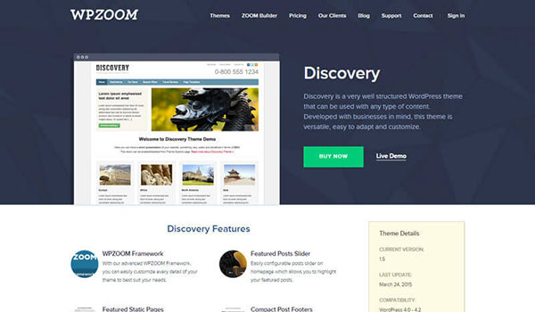 Discovery-WordPress-Theme