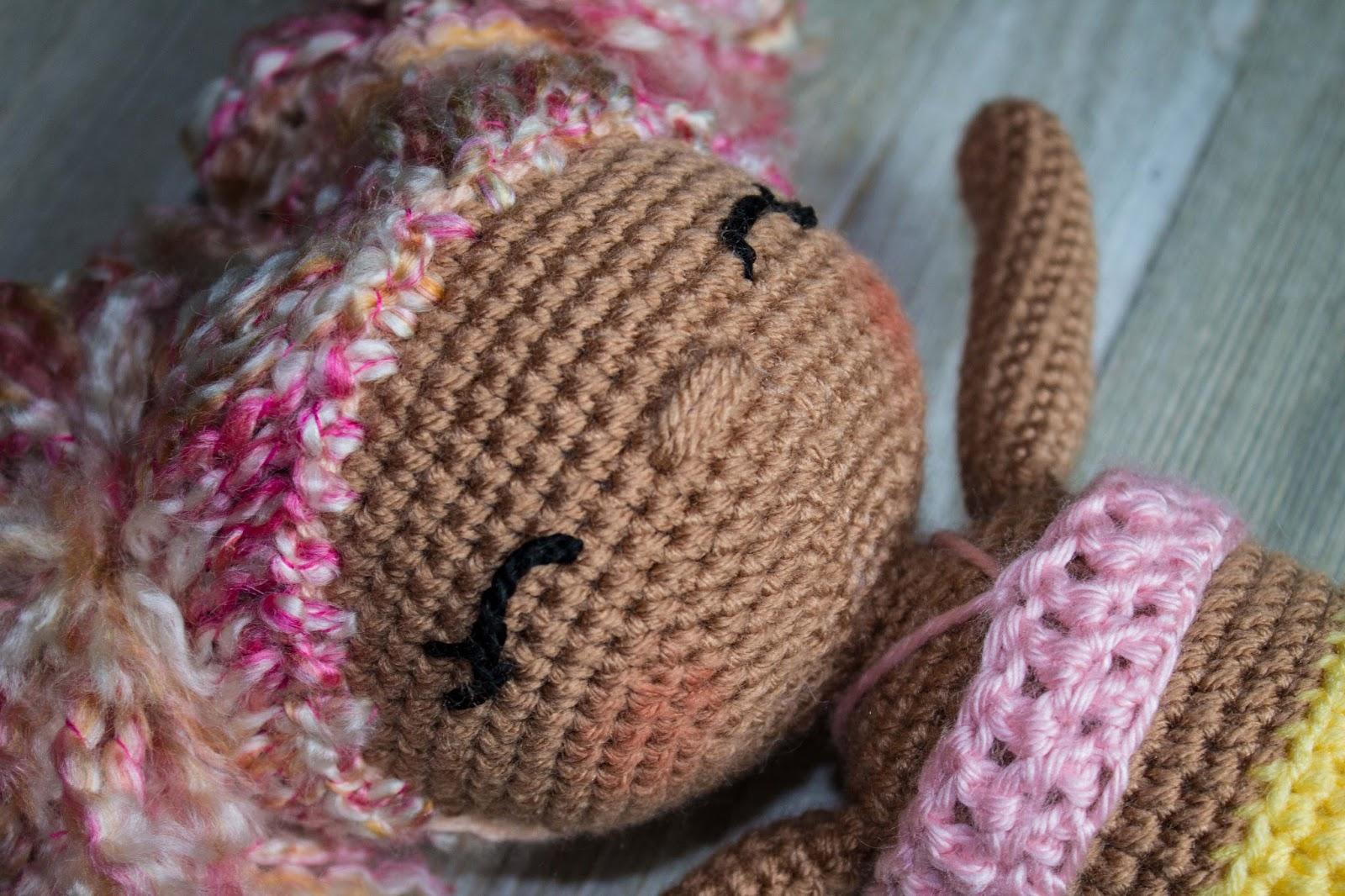 Best Yarn for Crochet Dolls - thefriendlyredfox.com | 1066x1600