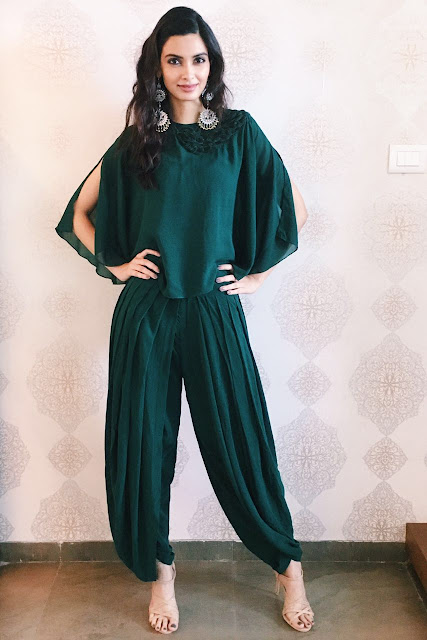 Spotted: Diana Penty in INTOTO shoes