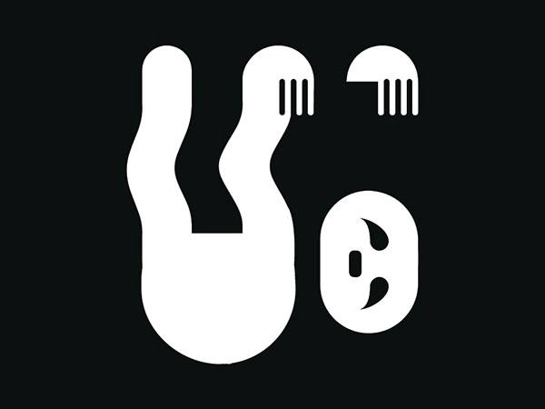 Contoh Desain Logo Negative Space - 14