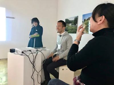 書道、対話型鑑賞、アーツ千代田