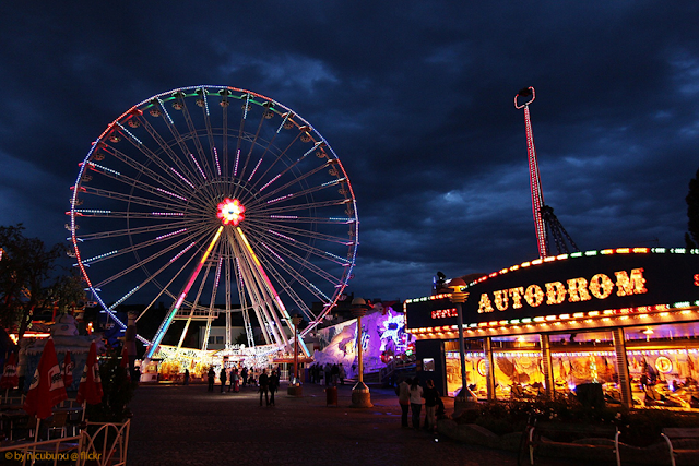 Parque Prater em Viena