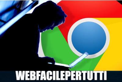 Google Chrome adotterà una funzione contro il typosquatting per indicare quando si è vittime di un reindirizzamento