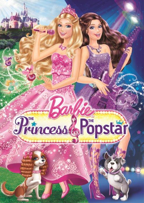 Papusa Barbie Prinţesa şi vedeta pop Dublat In Romana Online