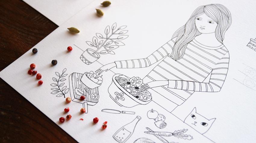De Tacones y Bolsos: Dream, un libro para colorear, imaginar y soñar ...