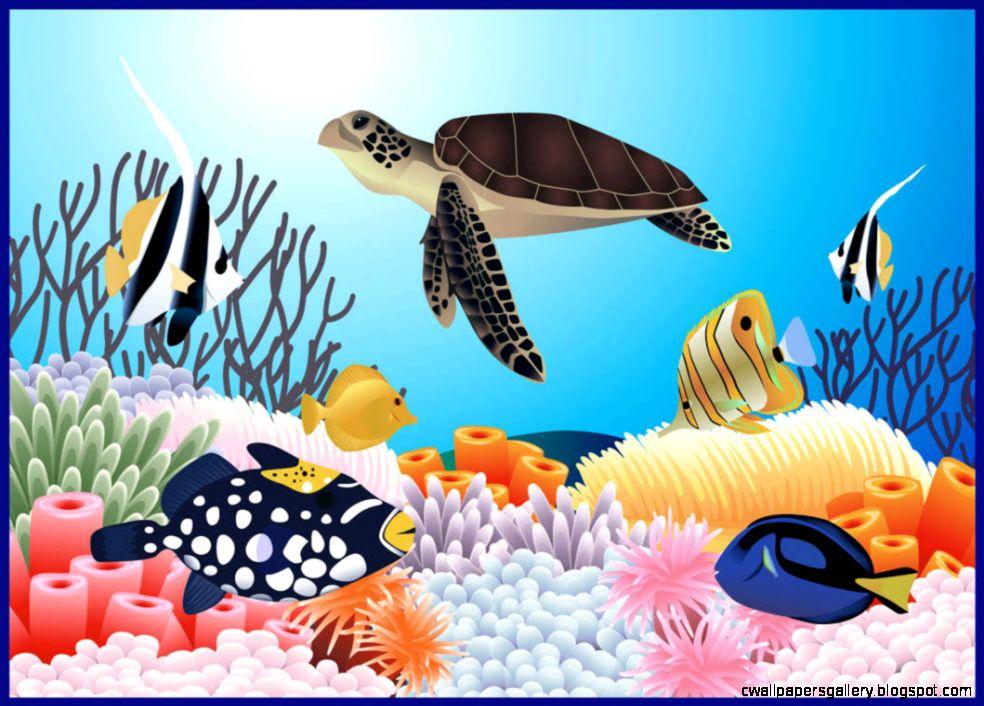 Ocean Life Clip Art – Cliparts