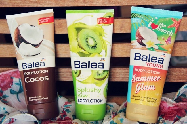Balea Body lotions: Kiwi, Coconut and Summer Glam