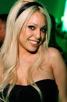 Hot babe in a nightclub