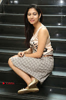 Actress Vanditha Stills in Short Dress at Kesava Movie Success Meet .COM 0279.JPG