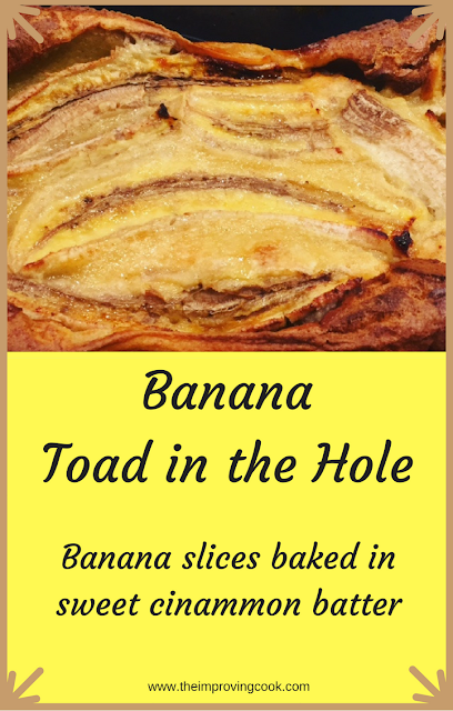 Banana Toad in the Hole Pinterest Image