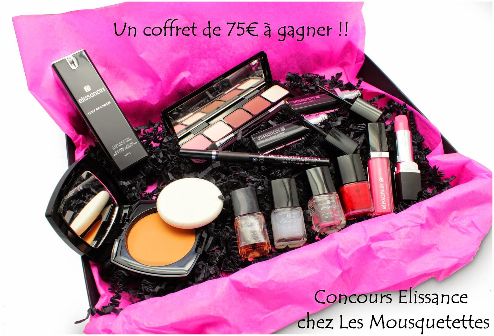 Concours Elissance Paris 75€ de lot chez Les Mousquetettes©