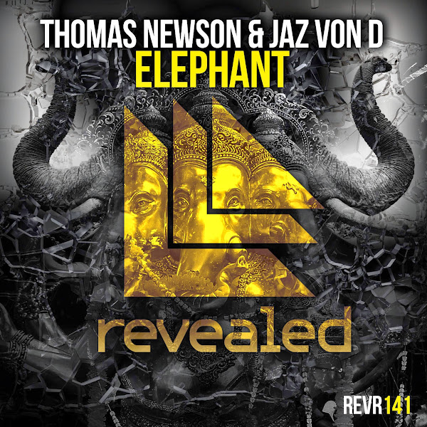 Thomas Newson & Jaz von D - Elephant - Single  Cover