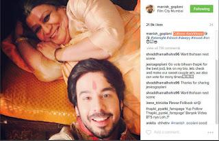 Manish Goplani 'Bihan' Thapki ANTV Sedang Mesra Dengan Wanita Lain, Bukan Jigyasa Singh !