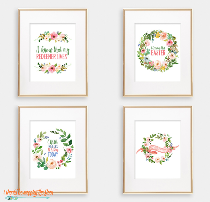 Beautiful Easter Printables