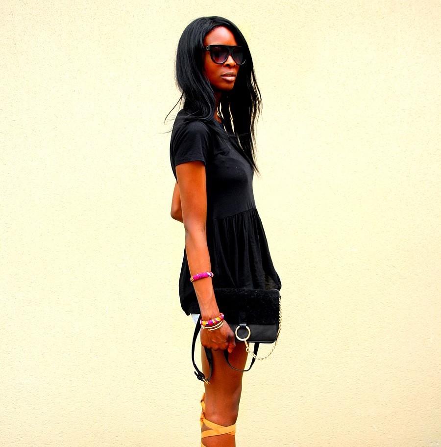 chloe-faye-laceup-sandals-missguided-peplum-top-etam-short-jeans-stylersbyassitan