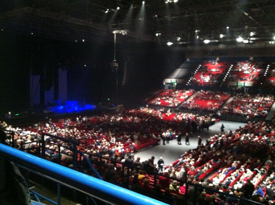 A Nightingale Sang      : Alfie Boe in Concert at the N I A