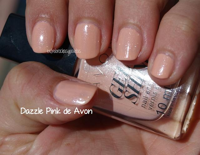 esmalte uñas avon dazzle pink