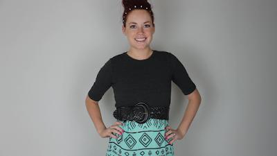 Vestido de dos prendas reciclado tutorial
