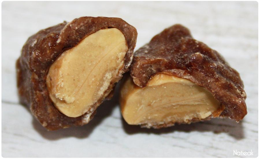 Praslines de Mazet: l'amande caramélisée