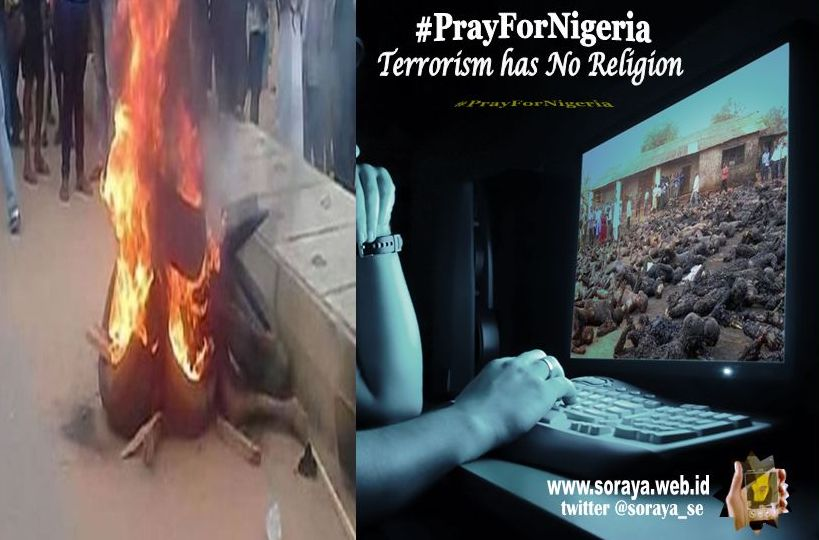 PrayForNigeria kekejaman teroris boko haram