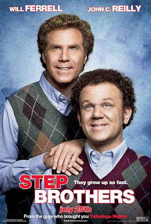 Poster Of Step Brothers In Dual Audio Hindi English 300MB Compressed Small Size Pc Movie Free Download Only At worldfree4u.com