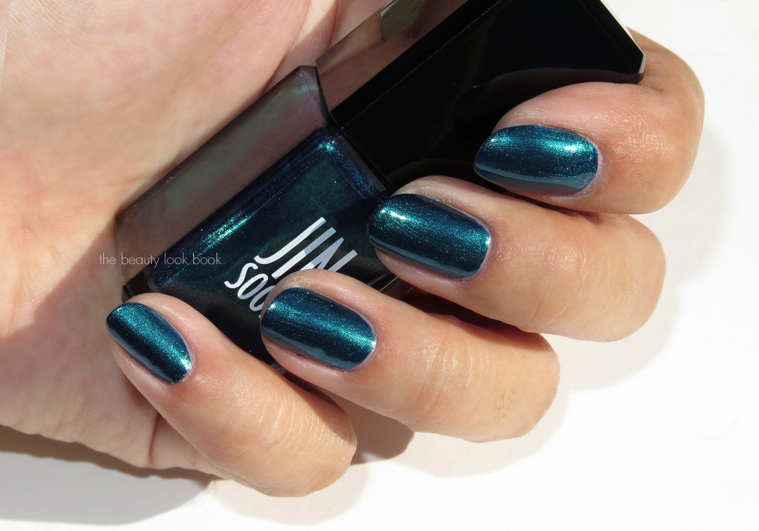 Deep Smoky Teal Nail Lacquers Louboutin Jinsoon Nars Marc Jacobs Beauty And Rescue Beauty